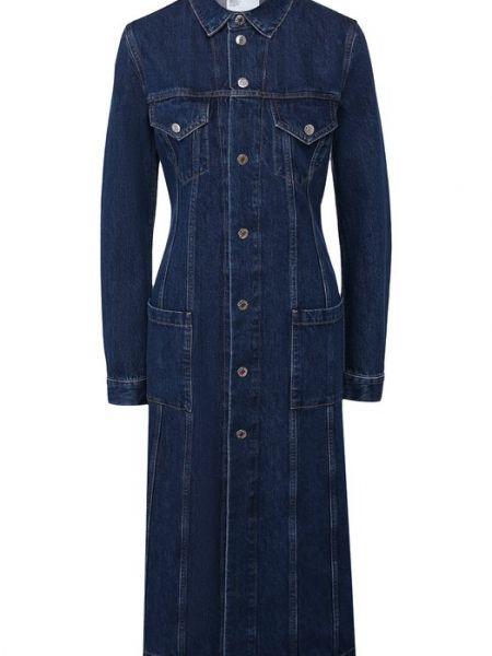 Пальто джинсовое пальто Helmut Lang
