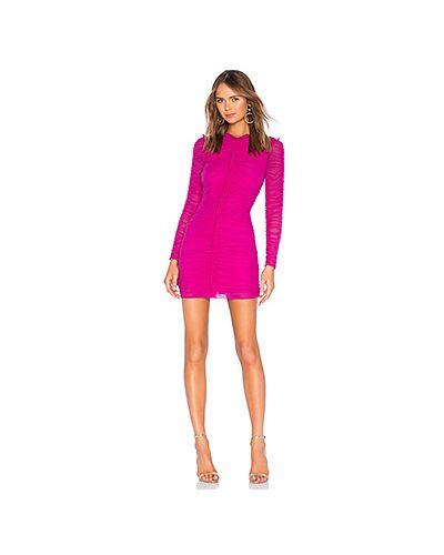Платье мини розовое макси Nbd