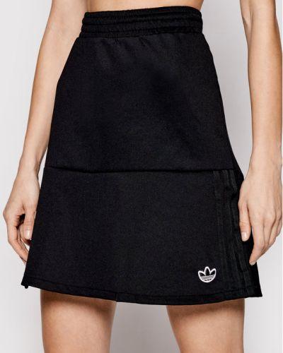 Spódniczka mini - czarna Adidas
