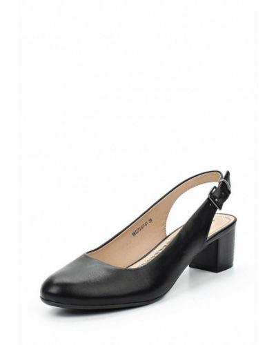 Черные туфли с открытой пяткой Betsy
