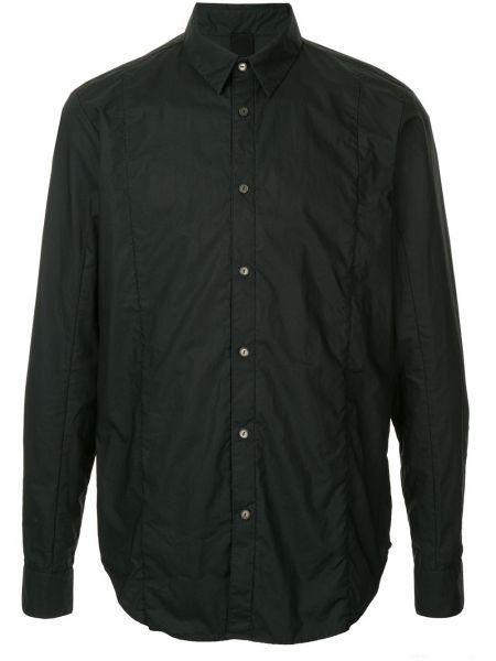 Черная рубашка на пуговицах Forme D'expression