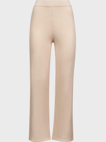 Белые брюки из вискозы Kontatto