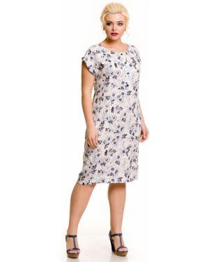 Повседневное платье на пуговицах из вискозы Novita