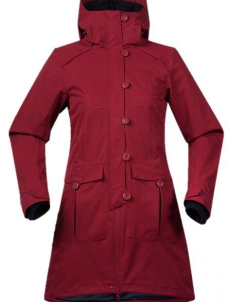 Пальто с капюшоном на молнии спортивное Bergans