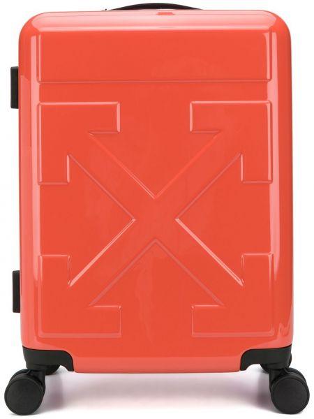 Красный чемодан Off-white
