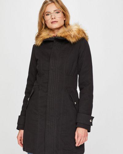 Утепленная куртка с капюшоном прямая Pinko