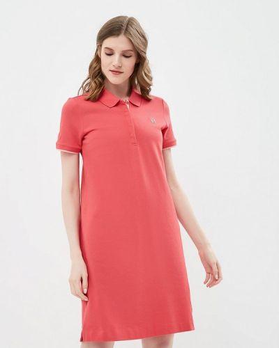 Розовое платье прямое S.oliver