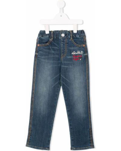 Синие джинсы Miki House