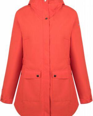 Зауженная оранжевая куртка с капюшоном на молнии с карманами Columbia