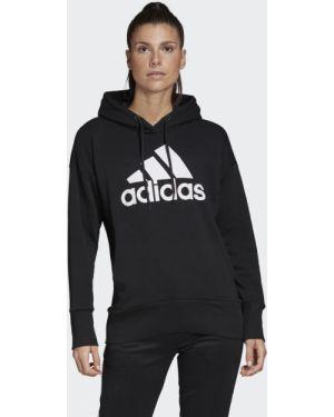 Свободные черный спортивный спортивный костюм свободного кроя Adidas