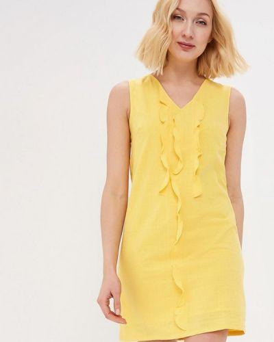 Желтое платье Savage