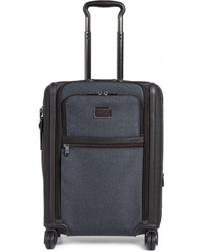 Текстильный чемодан хаки с подкладкой Tumi