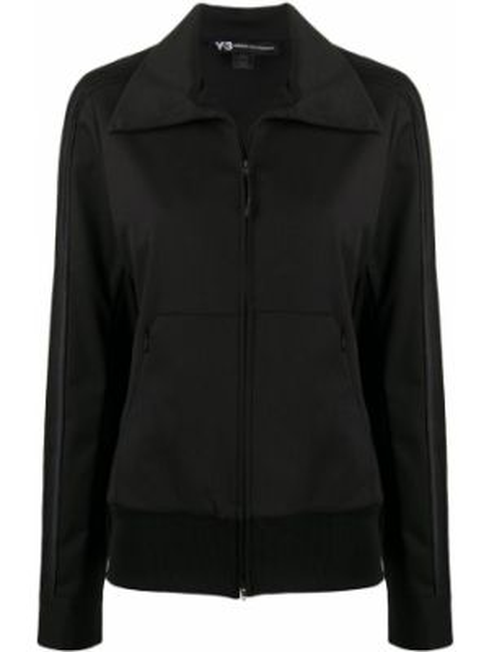 Спортивная куртка черная на молнии Y-3