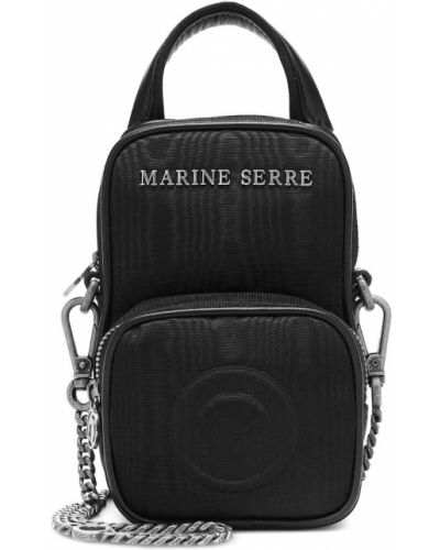 Кожаная косметичка - черная Marine Serre