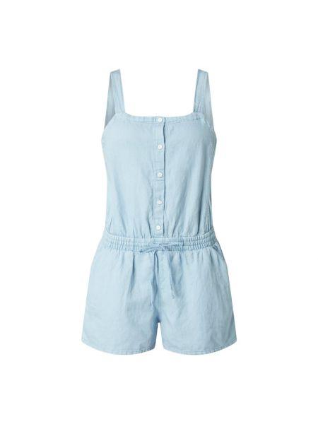 Bawełna niebieski spodni kombinezon z dekoltem prostokątny Levi's
