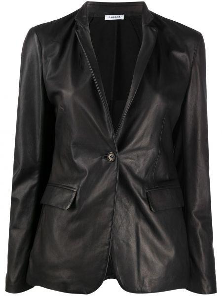 Классический пиджак черный приталенный P.a.r.o.s.h.
