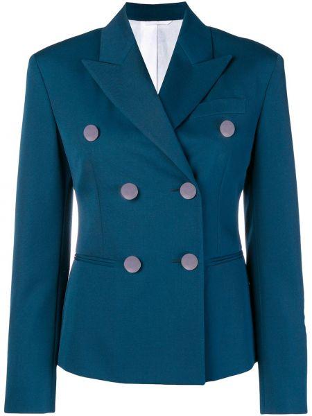 Шерстяной пиджак - синий Calvin Klein 205w39nyc