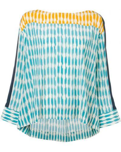 Блузка с воротником - оранжевая Steffen Schraut