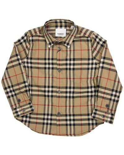Koszula bawełniana vintage Burberry