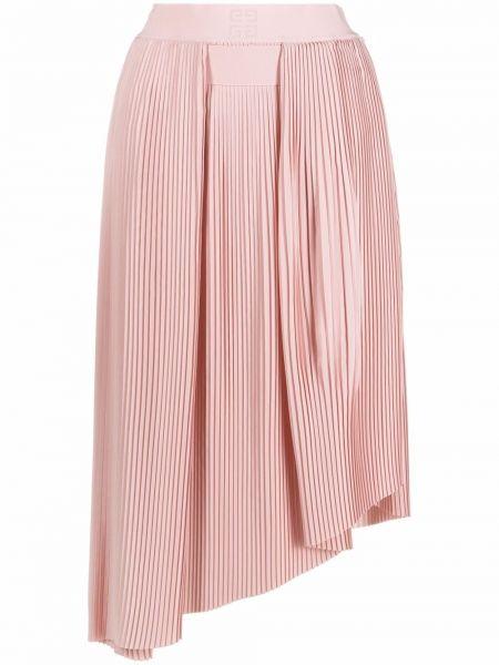 Spódnica plisowana - różowa Givenchy