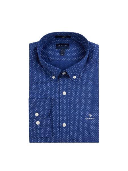 Koszula z długim rękawem z logo długa Gant