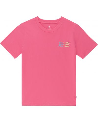 Футболка - розовая Converse