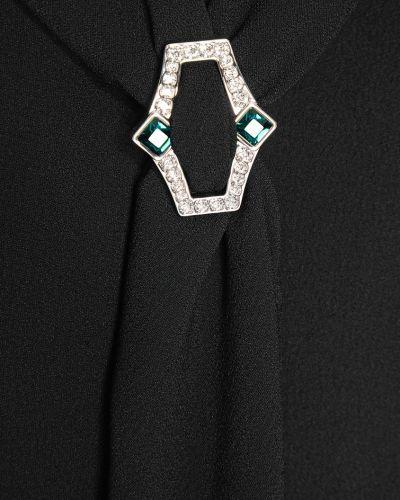 Платье прямое с драпировкой Prada