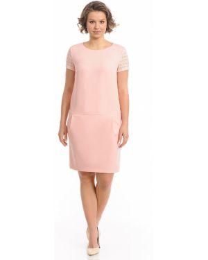 Платье мини деловое на пуговицах Merlis