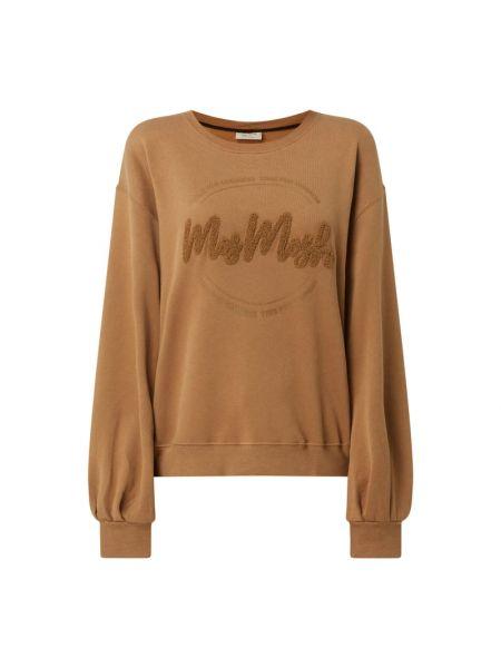 Bluza bawełniana - brązowa Mos Mosh