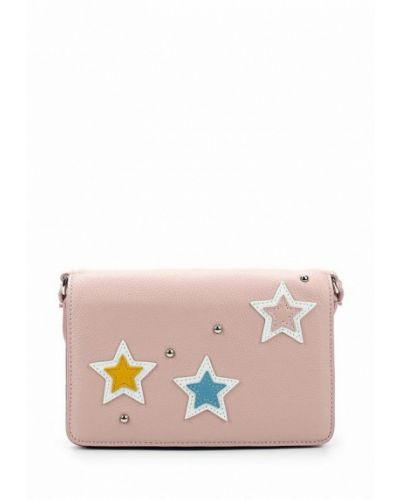 Розовая сумка Fabretti