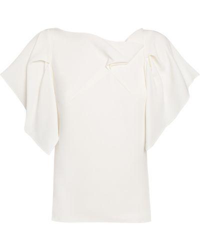 Biała koszulka Roland Mouret