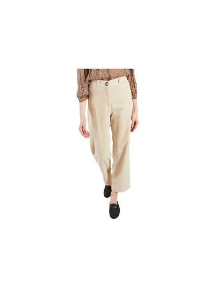Beżowe spodnie Sessun
