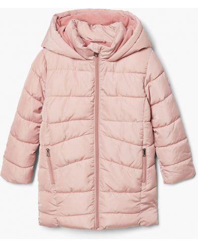 Куртка розовый Mango Kids