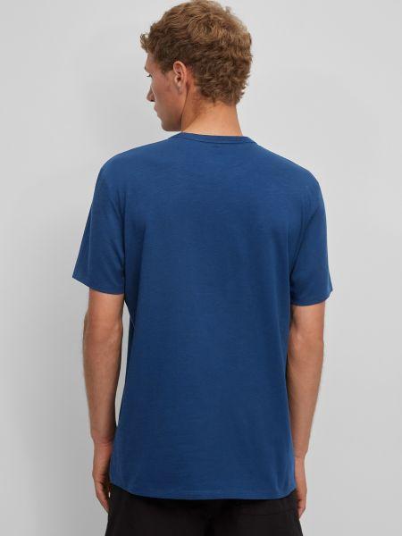 Джинсовая футболка - синяя Marc O'polo Denim