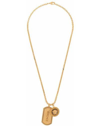 Ожерелье из золота золотой Versace