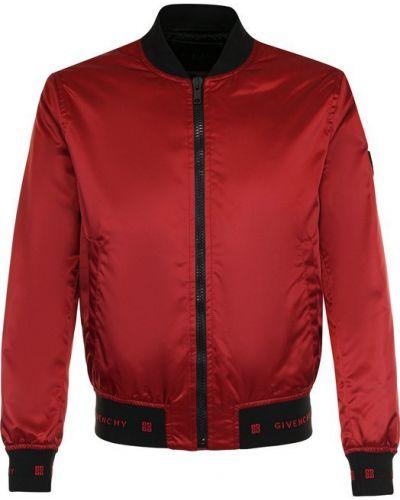 Куртка с воротником-стойкой на молнии Givenchy