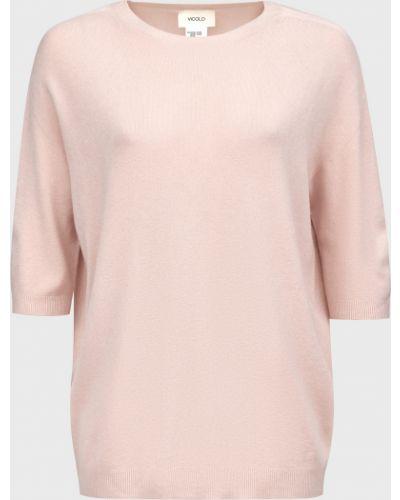 Джемпер из ангоры - розовый Vicolo