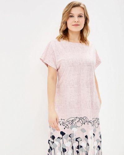 Платье весеннее розовое Лори