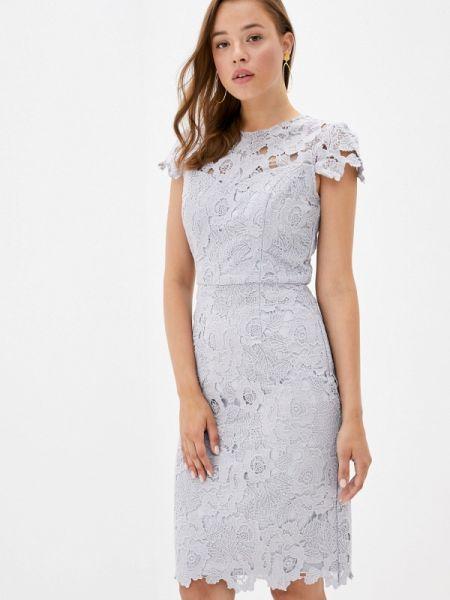 Прямое серое платье Chi Chi London