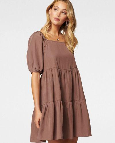 Коричневое платье Forever New