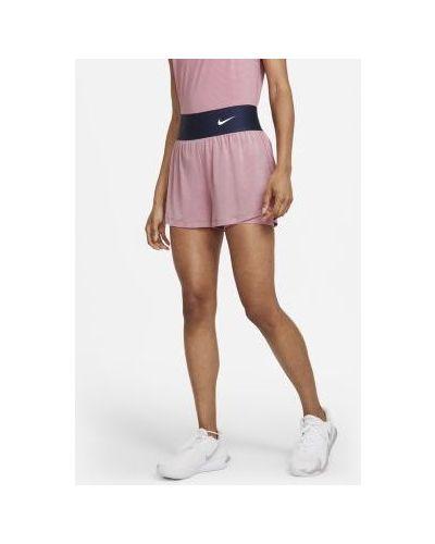 Теннисные с завышенной талией шорты для бега Nike