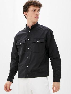 Черная зимняя рубашка Ostin