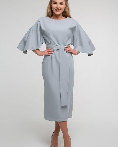 Нарядное платье с поясом свободного кроя Петербургский Швейный Дом