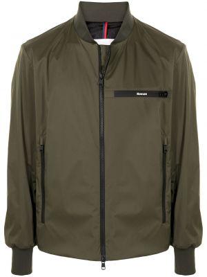 Długa kurtka, zielony Moncler