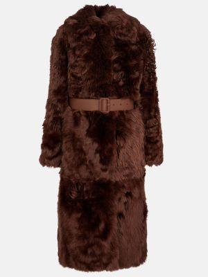Полупальто - коричневое Loro Piana