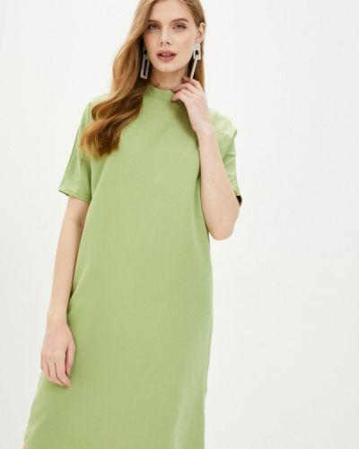 Прямое зеленое платье Incity