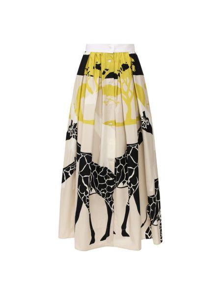 Хлопковая юбка Sara Roka
