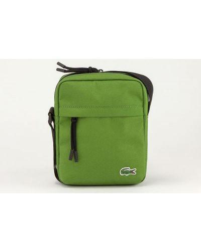 Zielona torebka Lacoste