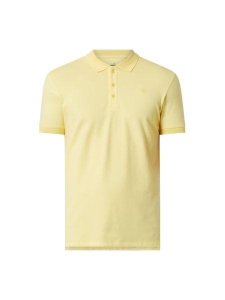 Żółty t-shirt bawełniany Raizzed