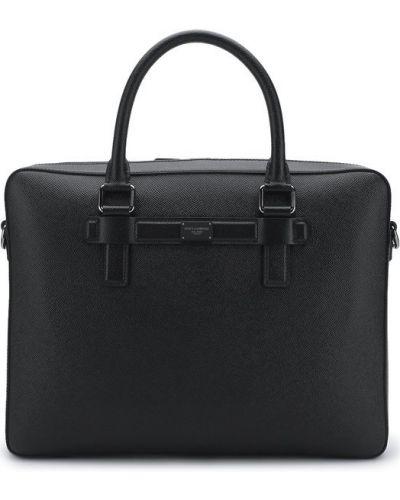 Кожаная сумка для ноутбука Dolce & Gabbana